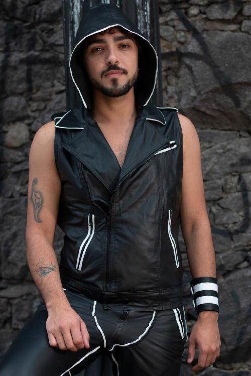 Fiel: candidato a Mister Leather Brasil 2019